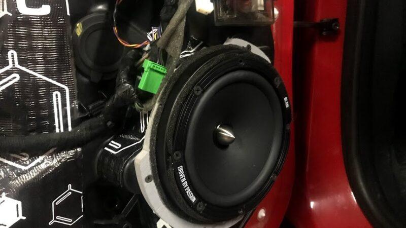 Заміна штатної акустики автомобіля