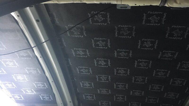 Готова шумоізоляція даху авто